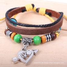 Mode Leder Armband für Männer KSQN-17