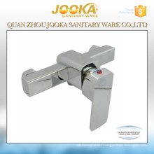 Lever handle chrome squarer bathroom shower faucet