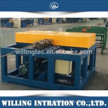 Projeto de máquina de porta de grade de ferro galvanizado para venda