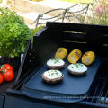 double side Rectangle grill pan with vegetable oil