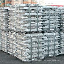 Fabricant lingots d'aluminium 99,7% chaud en vente