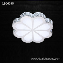 modern crystal ceiling lamp flower chandelier lighting