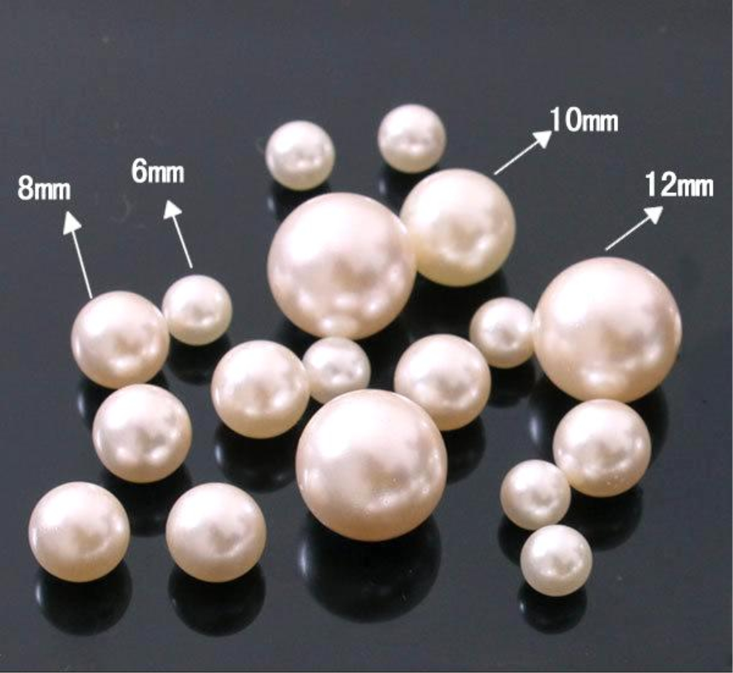 Large Plastic Pearls
