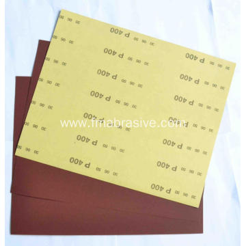 Aluminum Oxide C-Wt Yellow Latex Paper FM38 400#
