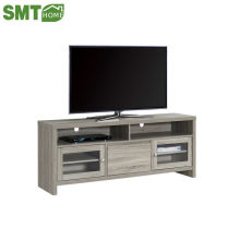 Commercial melamine MDF PB wooden tv bench