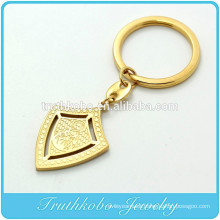 TKB-K0004 Armor of God Shield Key Chain with cross plus ring