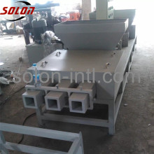 Hydraulic wood pallet block making machine