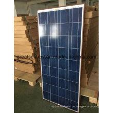 150W Poly Sonnenkollektoren mit großem konkurrenzfähigem Preis und ausgezeichnetem Preis in Asien, MITTLERES Ost, Afrika