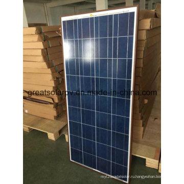 150W Poly солнечные панели с отличной конкурентоспособной ценой и отличной ценой в Азии, MID East, Africa