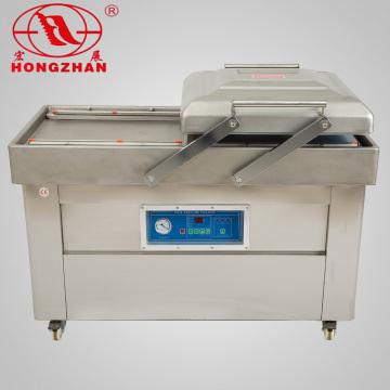 China Lieferanten Essen Doppelkammer Vakuum Verpackungsmaschine