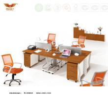 Modern Open Office Furniture 4 Person Seats Modular Workstation (H30-0233)