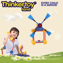 Bloques de construcción de plástico intelectual de juguete educativo