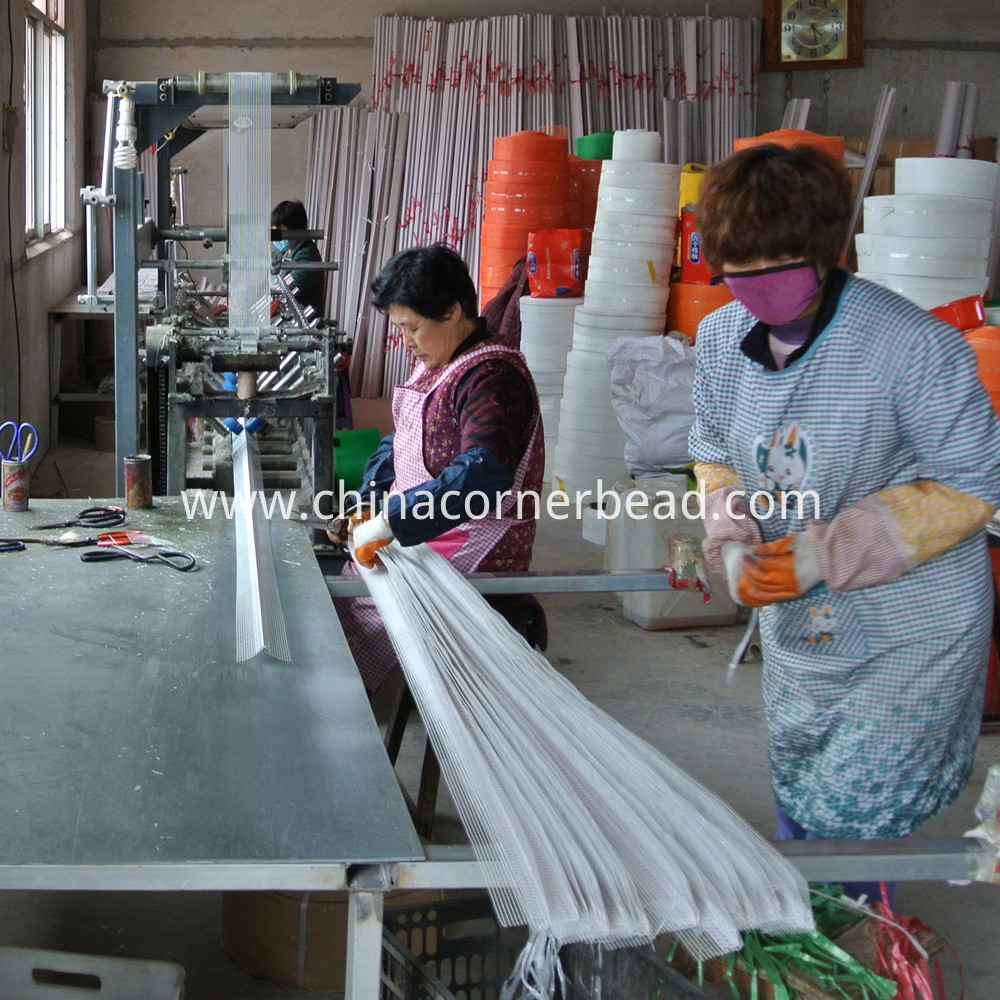 pvc corner mesh workshop