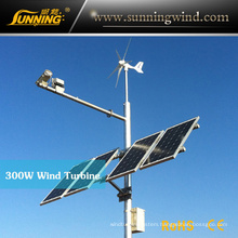 Sunning Camping Wind Turbine 300W for Monitoring Outdoor