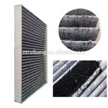 Fournir le tissu de coton de carbone activé / tissu filtrant / tissu de filtre à air