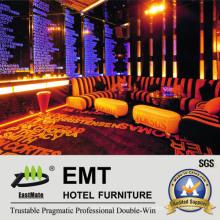 Sofá del club de noche de los muebles del ocio fijado (EMT-KTV05)