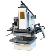 Carte en cuir à haute pression de Tam-358-A4 gaufrant la machine chaude de cachetage manuelle