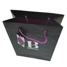 Bolsa de papel de color Bolsa de regalo de compras