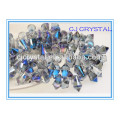 2015 New Design Machine Cut glass cylindre cylindres