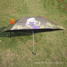 3 Fold Mini Umbrella with UV Protection (YSM0009)