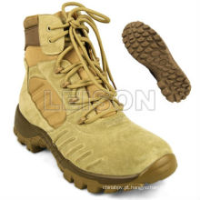 Deserto de exército botas botas de combate tático fabricante ISO padrão