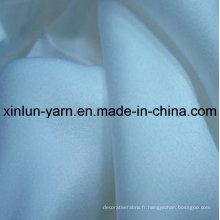 Tissu plissé de jupe de polyester de fabricant pour le tissu d'écharpe