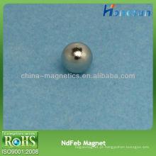D5mm bola forte ímã de permanente