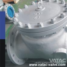 Нажимного дюймов и классом давления cl150 АПИ 6Д/BS1868 Скребками полный порт а 216 wcb Клапан качания