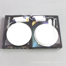 10USD 18W LED Dimmable runde quadratische Platte Decke unten Licht
