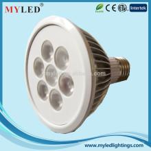 Baixo lúmen decaimento 18w E26 / 27 dimmable impermeável Par 38 lâmpadas led