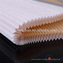 Tissu en coton bicolore en coton corsé à chaud