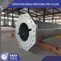 110KV power transmission galvanized steel pole
