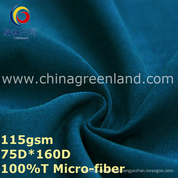 Micro-Fiber Polyester Twill Fabric for Casual Clothes (GLLML334)