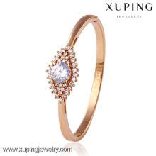 50669 Xuping banhado a ouro tanishq pulseiras mais recentes projetos, atacado pulseiras de fio de seda