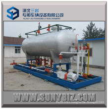 15m3 LPG Filling Plant with Double Nozzle Dispenser for Nigeria