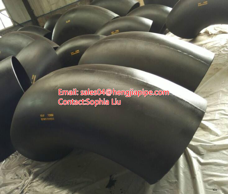 ANSI B16.9 welded elbow