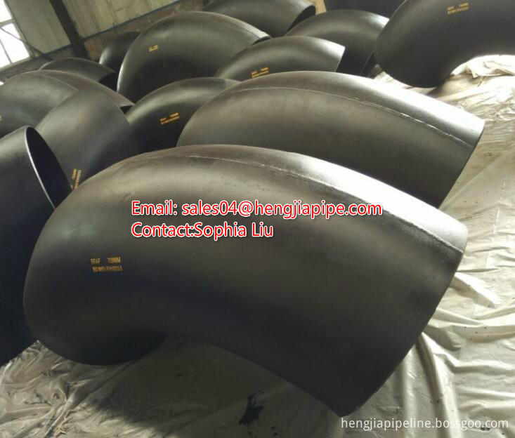 ANSI B16.9 welded elbow