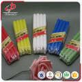 Common home decorative colorful stick candle