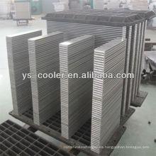 Intercooler de agua para la construcción vehículo / vehículo radiador / camión intercooler núcleo