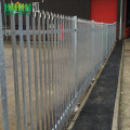 Valla de metal Palisade decorativo de pie libre
