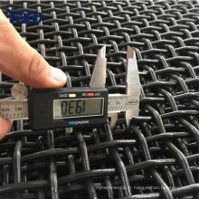 Produits de haute qualité Pierre Crusher Écran Vibrant Mesh treillis métallique serti (fabrication Anping)