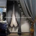 Chine, fournisseur, royal, noir, scène, fond, rideaux