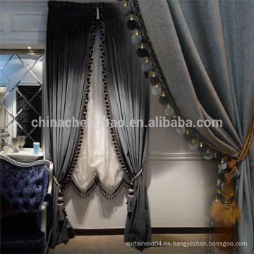 China proveedor real negro etapa cortinas de fondo