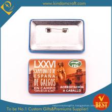 Campeonato Souvenir Tin Button Badge in Wholesale