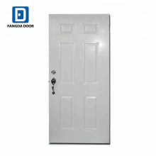 6-Panel Tradition Steel Front Door Made In China