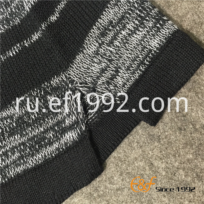 striped slit sweaters for men