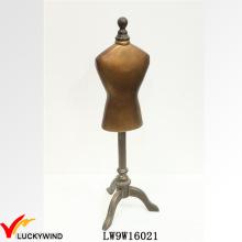 Forma única del metal del vestido del soporte Maniquíes del estilo de la vendimia