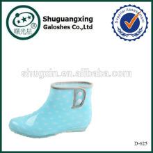 bottes de pluie de cow-boy de caoutchouc D-625