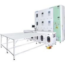 Máquina de enchimento de cobertores totalmente automática