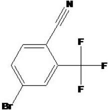 4-Bromo-2- (Trifluorométhyl) Benzonitrile N ° CAS 191165-13-6